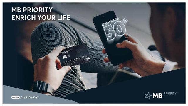 MB Priority: Làm giàu cuộc sống cho bạn - Ảnh 1.