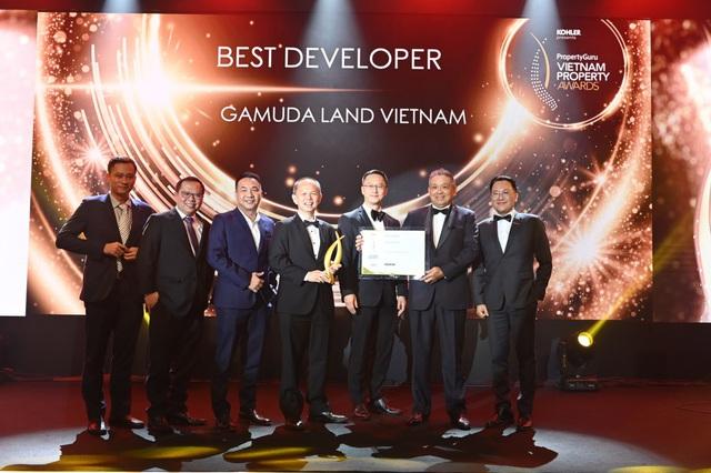 """Gamuda Land Việt Nam giành giải thưởng """"Best Developer"""" tại Vietnam Property Awards 2020 - Ảnh 1."""