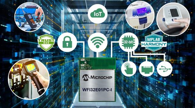 """Microchip tung """"chiến binh"""" mới: Mô-đun vi điều khiển đầu tiên cho thiết bị ngoại vi - Ảnh 1."""