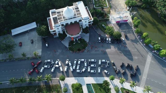 100 xe Mitsubishi Xpander xếp chữ hoành tráng tại Hạ Long: Hành trình đầy ý nghĩa và cảm xúc - Ảnh 1.