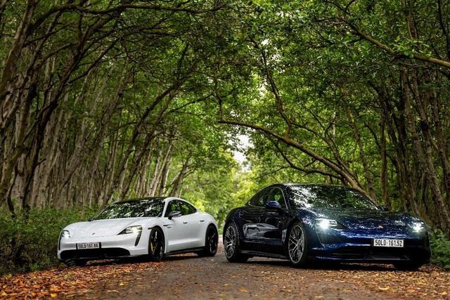 Porsche chính thức ra mắt dòng xe thể thao thuần điện cao cấp Taycan tại Việt Nam - Ảnh 2.