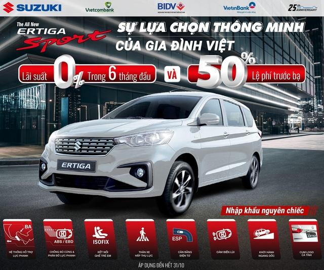 """Doanh số tăng trưởng mạnh, Suzuki """"chiêu đãi"""" khách hàng khuyến mãi lớn - Ảnh 2."""