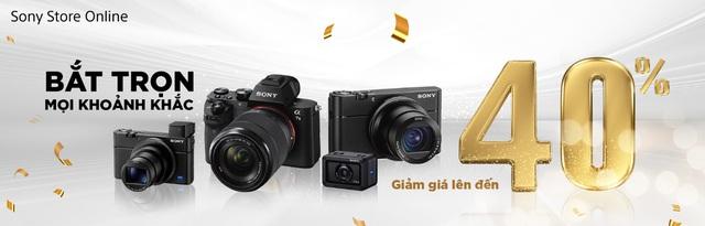 Sony ra mắt cửa hàng trực tuyến chính hãng đầu tiên tại Việt Nam với chương trình ưu đãi lên đến 40% - Ảnh 2.