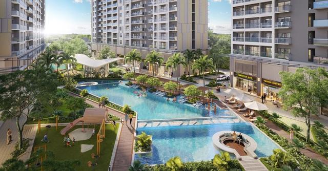 """Từ 480 triệu, rộng cửa sở hữu căn hộ """"resort"""" tại Bình Dương - Ảnh 2."""