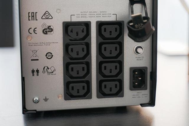Trải nghiệm APC Smart-UPS SMC1000IC: Bộ lưu điện kết nối đám mây giúp theo dõi UPS từ xa, mọi lúc mọi nơi, trên mọi thiết bị - Ảnh 4.