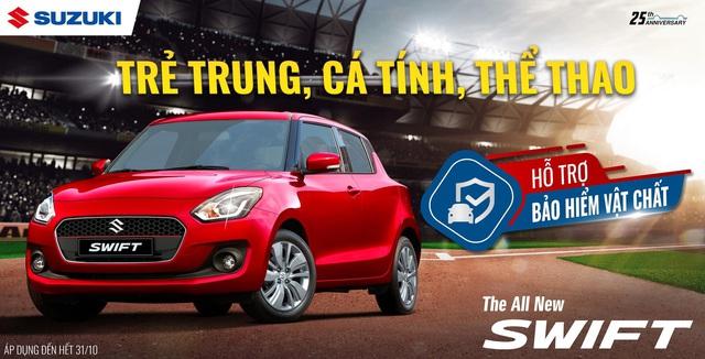 """Doanh số tăng trưởng mạnh, Suzuki """"chiêu đãi"""" khách hàng khuyến mãi lớn - Ảnh 4."""