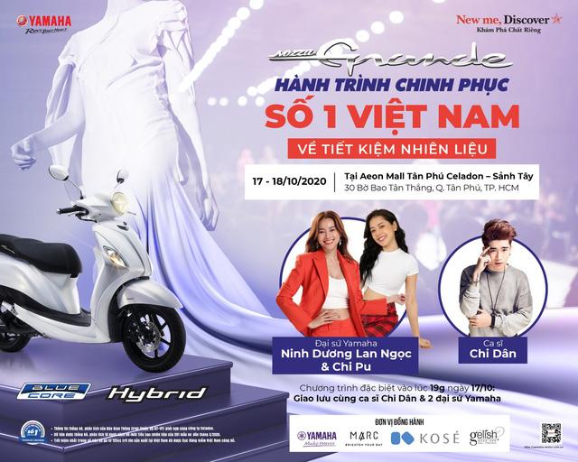Yamaha Grande Fashion Show - món quà làm tan chảy các quý cô dịp 20/10 - ảnh 1