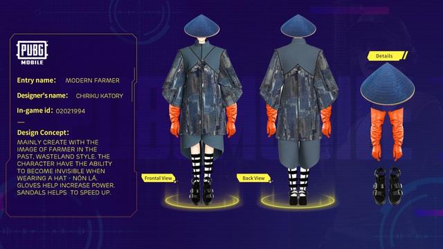 """PUBG Mobile công bố chủ nhân giải thưởng $5000 của cuộc thi """"Thiết kế trang phục toàn cầu"""" - Ảnh 3."""
