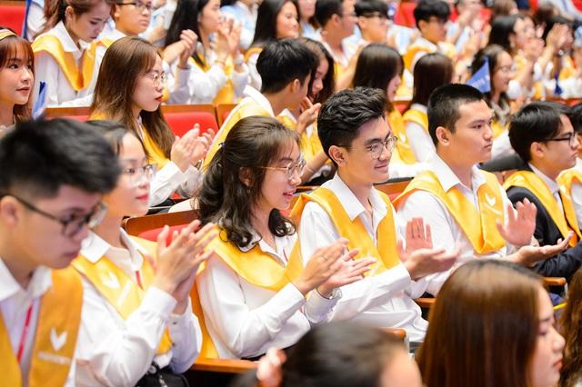 Trường đại học VinUni khai giảng năm học đầu tiên - Ảnh 1.