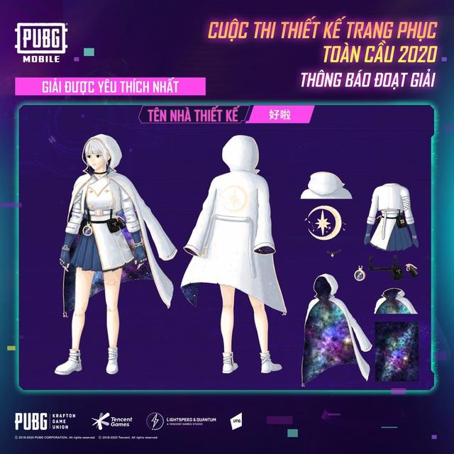 """PUBG Mobile công bố chủ nhân giải thưởng $5000 của cuộc thi """"Thiết kế trang phục toàn cầu"""" - Ảnh 4."""