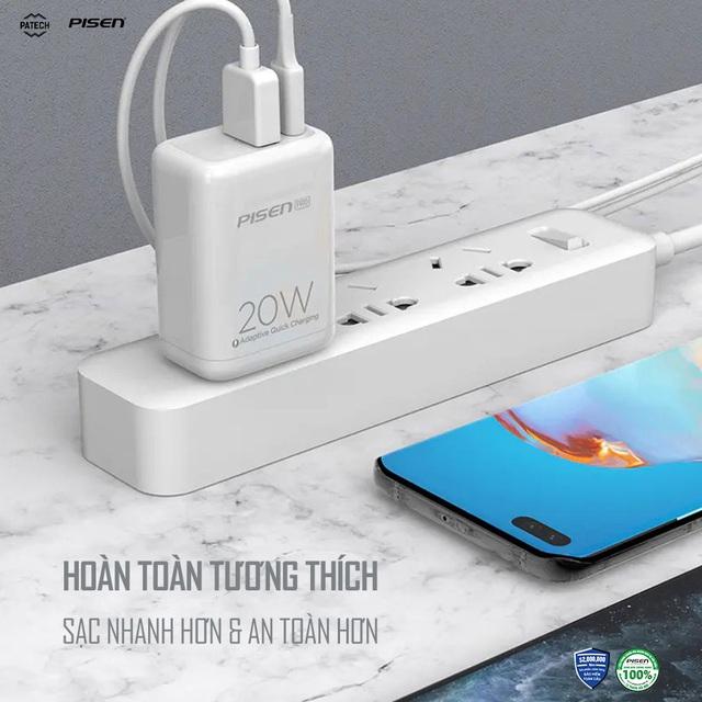 """iPhone 12 ra mắt loại bỏ cáp sạc, Pisen """"cứu cánh"""" tung bộ đôi sạc nhanh hoàn toàn mới tới người tiêu dùng - Ảnh 2."""