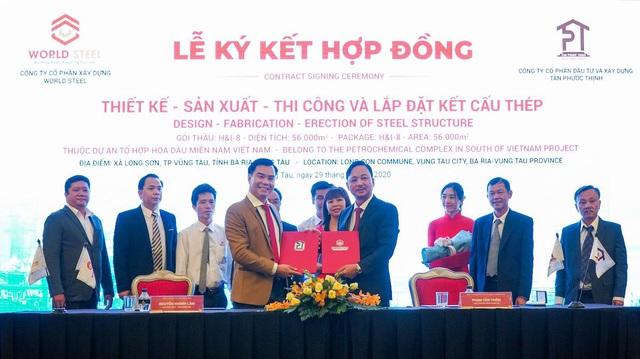 World Steel Group: Triển khai gói thầu 10 triệu USD tại Dự án Hóa Dầu Long Sơn - Ảnh 1.
