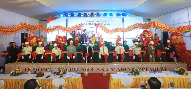 BCG Land tổ chức động thổ dự án Casa Marina Premium Quy Nhơn - Ảnh 1.