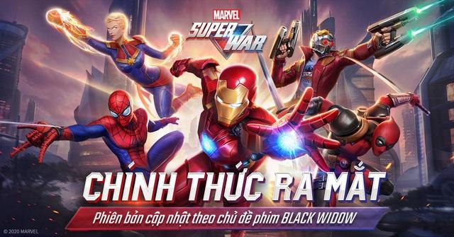 MARVEL Super War chính thức ra mắt tại Việt Nam: Hơn 50 nhân vật MARVEL chờ bạn vào chiến đấu! - Ảnh 1.