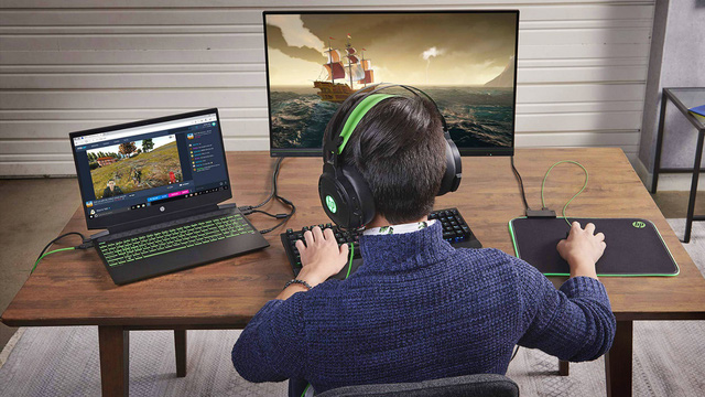 Laptop HP Pavilion Gaming 15 chip AMD 2020 hiệu năng cao cho game thủ - Ảnh 1.