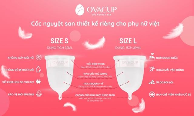 OvaCup - tự hào đem lại sản phẩm Việt, chất lượng quốc tế - Ảnh 2.