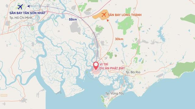Phát Đạt mua 24ha đất triển khai dự án Khu dịch vụ kho bãi logistics gần Cảng Cái Mép - Ảnh 1.