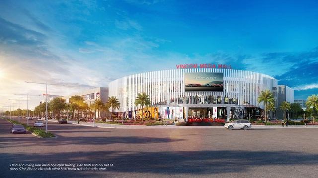 Vincom Mega Mall mang đến một không gian mua sắm thoải mái, hiện đại và đẳng cấp, phục vụ bởi hơn 140 gian hàng, trên tổng diện tích sàn lên đến 68,000m2.