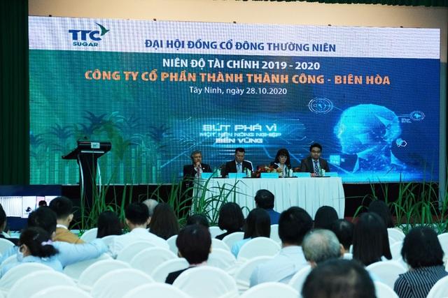 SBT tổ chức thành công đại hội đồng cổ đông thường niên niên độ 2019-2020 - Ảnh 1.