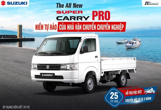 "Hơn 2 triệu khách hàng tự tin chọn ""Vua xe tải nhẹ"" Super Carry Pro của Suzuki - Ảnh 2."