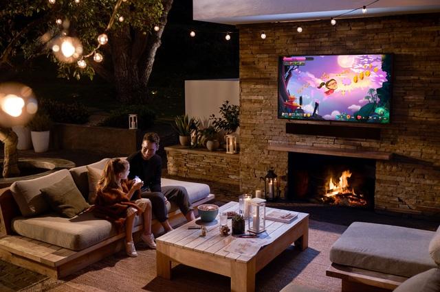 TV The Terrace là minh chứng cho tiên phong không ngừng đổi mới của Samsung - Ảnh 1.