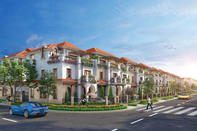 Xu hướng sống sang ở rộng với nhà phố diện tích lớn Aqua City - Ảnh 1.
