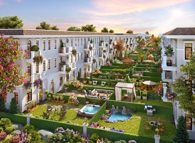 Tối ưu không gian sống với nhà phố diện tích lớn tại Aqua City - Ảnh 1.