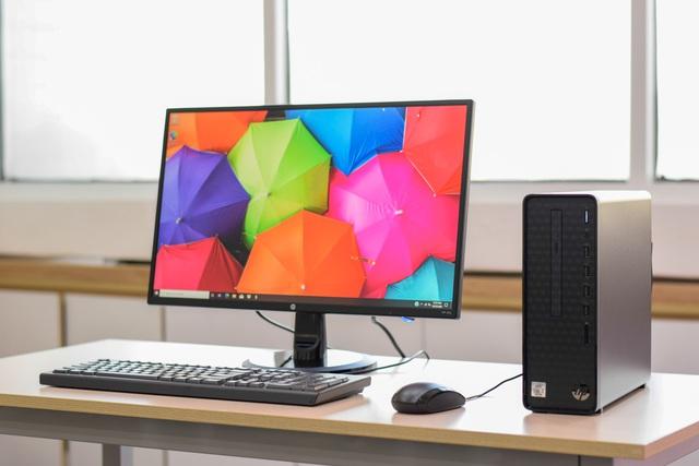 HP Slim S01: Thiết kế hoàn hảo dành cho không gian nhỏ - Ảnh 1.