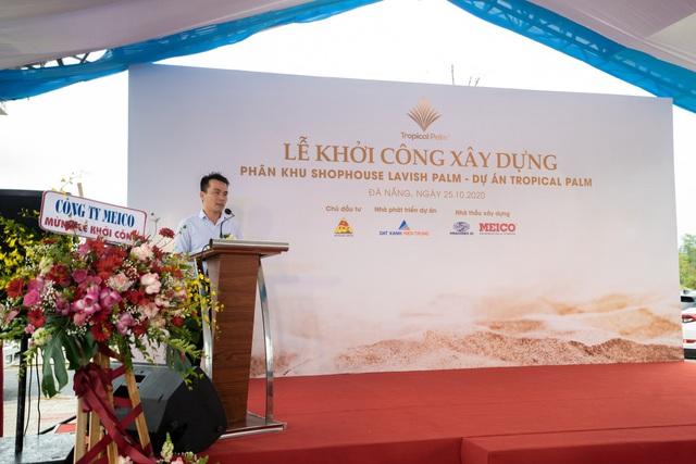 Đất Xanh Miền Trung khởi công phân khu Shophouse Lavish Palm thuộc dự án Tropical Palm - Ảnh 1.