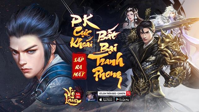 GAMOTA chính thức phát hành Võ Lâm Trấn Bảo - Siêu phẩm kiếm hiệp PK cực khoái - Ảnh 1.