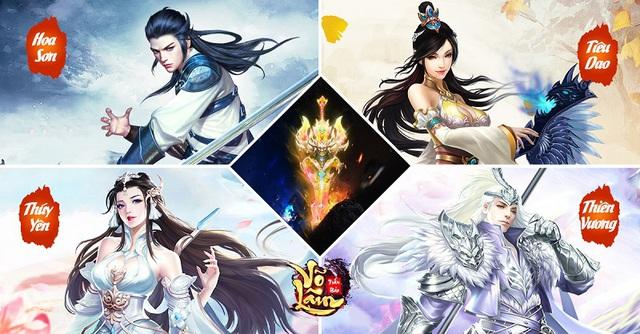 GAMOTA chính thức phát hành Võ Lâm Trấn Bảo - Siêu phẩm kiếm hiệp PK cực khoái - Ảnh 2.