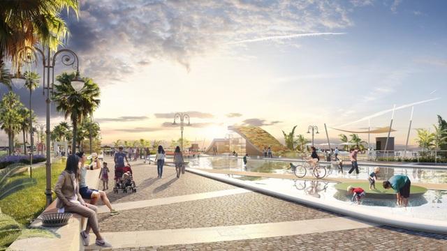 Đất Xanh Miền Trung khởi công phân khu Shophouse Lavish Palm thuộc dự án Tropical Palm - Ảnh 2.