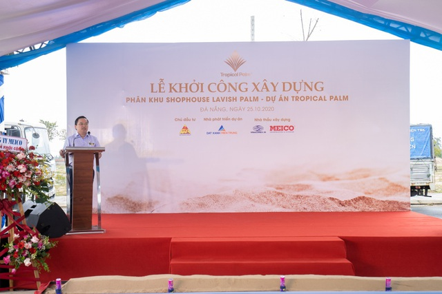 Đất Xanh Miền Trung khởi công phân khu Shophouse Lavish Palm thuộc dự án Tropical Palm - Ảnh 4.