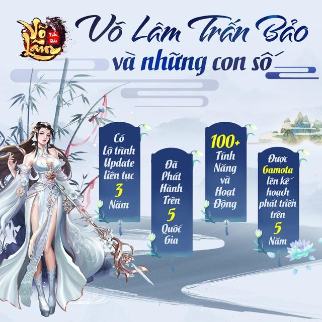 GAMOTA chính thức phát hành Võ Lâm Trấn Bảo - Siêu phẩm kiếm hiệp PK cực khoái - Ảnh 7.