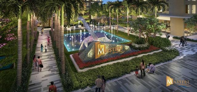 Masteri Waterfront, dự án tọa lại tại trung tâm đại đô thị Vinhomes Ocean Park