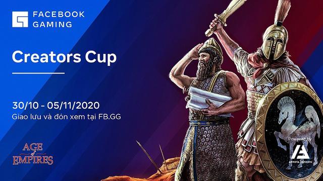 """Giải đấu AOE Creators Cup 2020 chính thức khởi tranh, hội tụ những cái tên """"máu mặt"""" - Ảnh 1."""