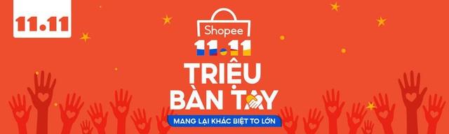 Phiếu mua hàng trị giá 100.000 đồng trên Shopee có giá chỉ 11.000 đồng, bạn thử chưa? ` - ảnh 1