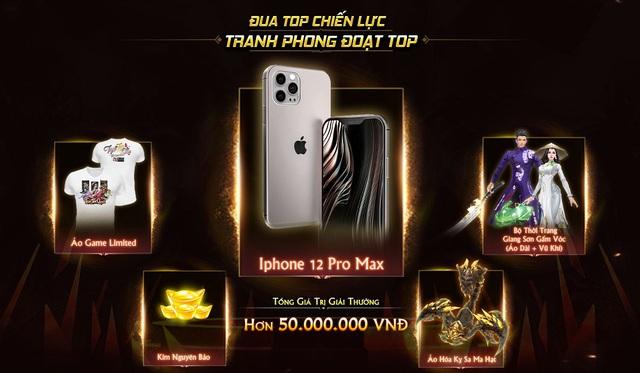 Trảm Tiên Quyết Tung Big Update Ra Mắt Phái Mới, Tặng iPhone 12 Pro Max Cùng Hàng Tấn Quà - Ảnh 4.
