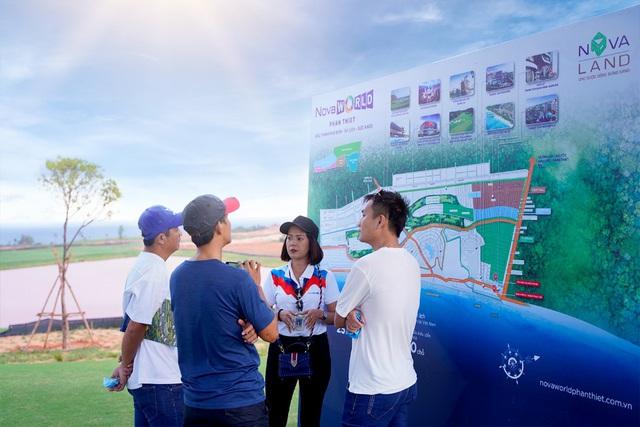 Novaworld Phan Thiet đón hàng ngàn khách hàng đầu tiên tham quan dự án - Ảnh 7.