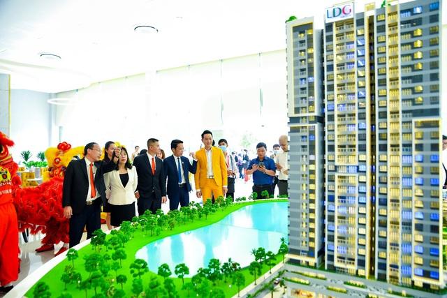LDG Group khai trương nhà mẫu khu căn hộ cao cấp ở khu Đông TP.HCM - Ảnh 1.