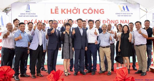 Công ty CP thiết kế xây dựng BIC khởi công xưởng gỗ Việt Mỹ Đồng Nai - Ảnh 2.