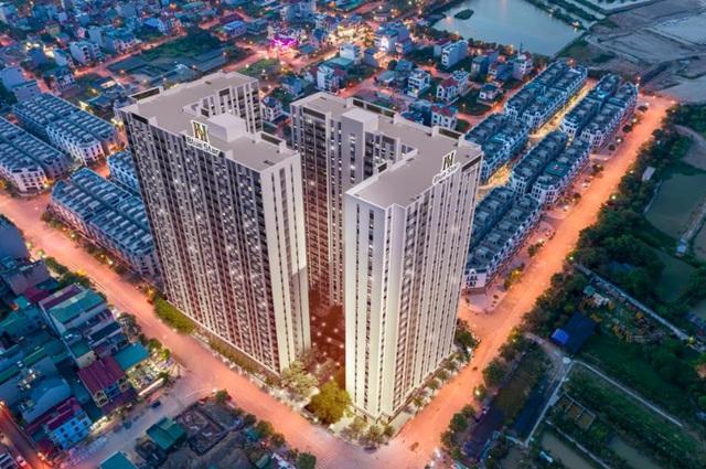Hanhomes Blue Star đón sóng dịch chuyển từ nhà đất lên chung cư tại khu Đông Hà Nội - Ảnh 2.