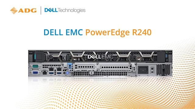 Dell EMC PowerEdge R240 - Máy chủ 1U dạng Rack được thiết kế cho các doanh nghiệp vừa và nhỏ với ngân sách tối ưu nhất - Ảnh 3.
