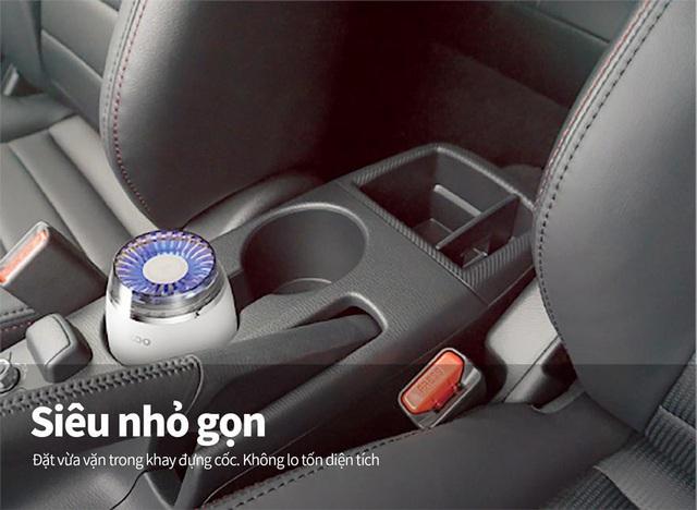 Loại bỏ hiệu quả vi khuẩn có hại và mùi hôi trên ô tô với máy lọc không khí tới từ Cuckoo - Ảnh 3.