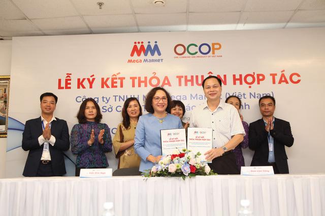 MM Mega Market tạo cơ hội kết nối tiêu thụ các sản phẩm OCOP - Ảnh 1.
