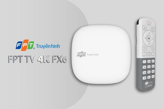 Truyền hình FPT công bố thiết kế nổi bật của bộ giải mã mới mang tên FPT TV 4K FX6 - Ảnh 1.