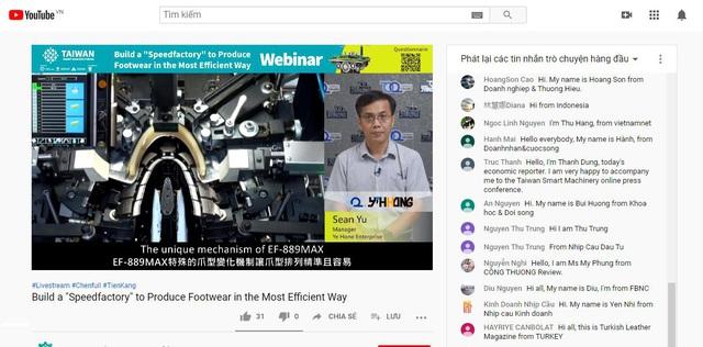 Đài Loan tiên phong về công nghệ hoá trong ngành sản xuất giày dép - Ảnh 1.