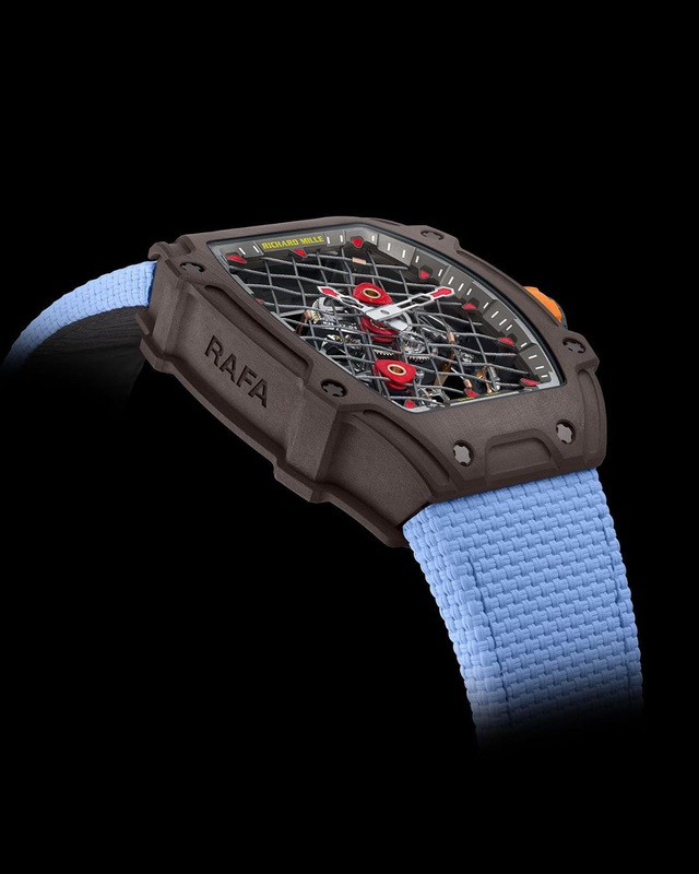 RM 27-04 Tourbillon: Mẫu đồng hồ kỷ niệm 10 năm hợp tác giữa Richard Mille và Rafael Nadal - Ảnh 2.