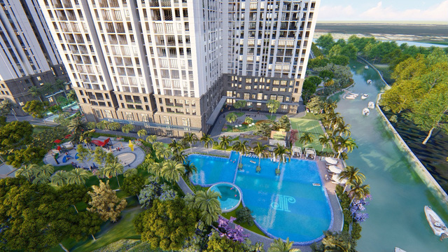 Cơ hội sở hữu căn hộ view sông tại Nam Sài Gòn - Ảnh 2.