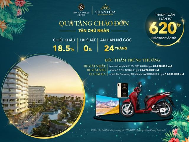 Căn hộ resort biển nổi bật trên thị trường bất động sản nghỉ dưỡng cuối năm 2020 - Ảnh 2.